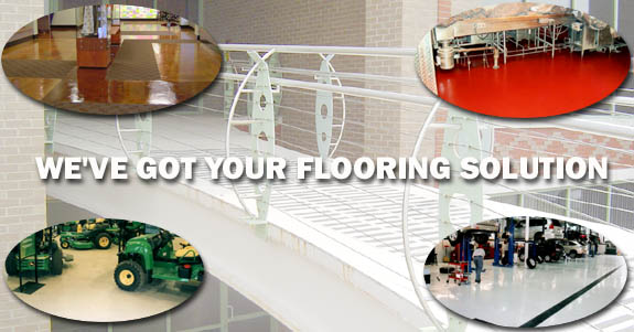 We've got your epoxy flooring solution